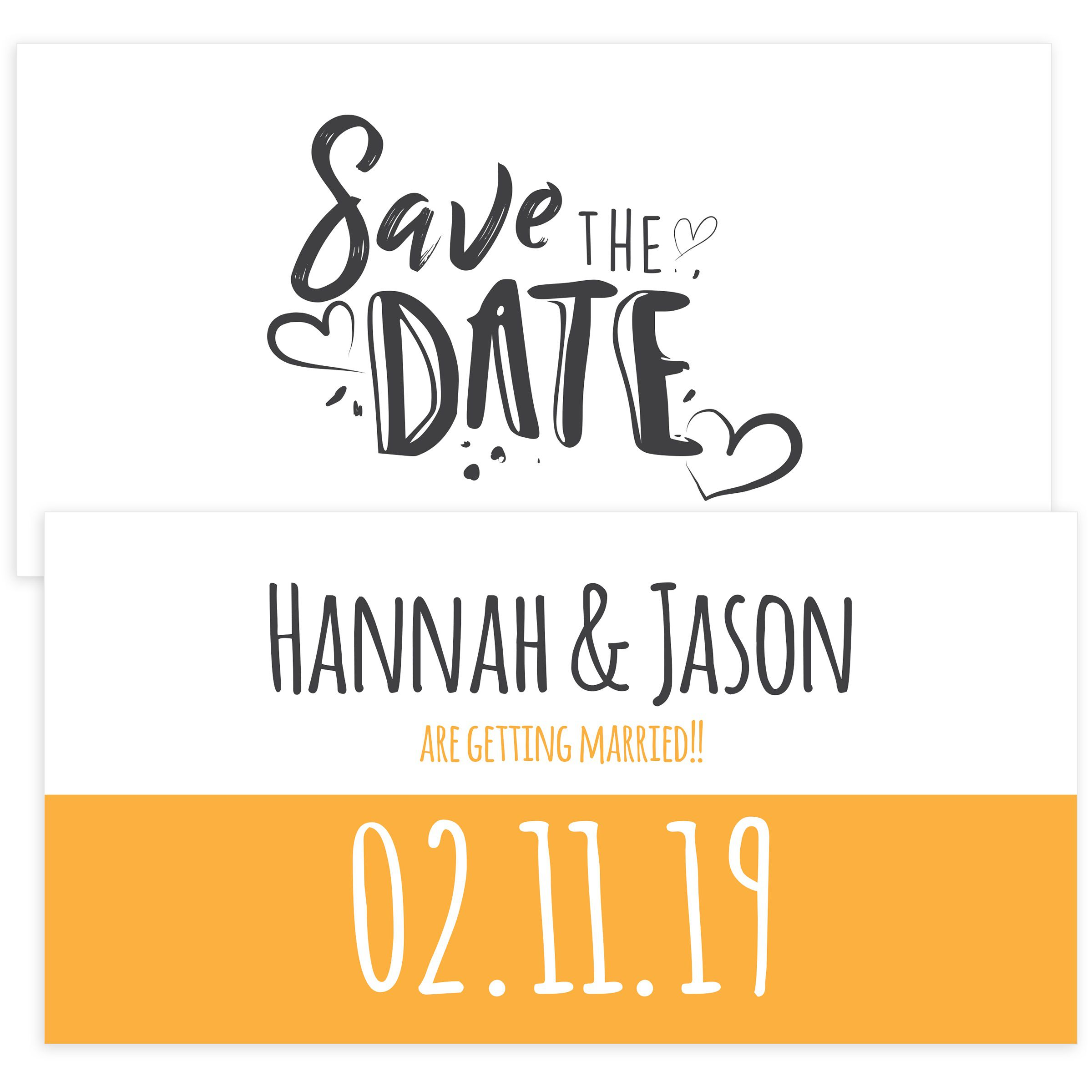 008 Singular Save The Date Template Photoshop Idea  Adobe CardFull