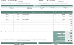 008 Singular Self Employed Invoice Template Google Doc Inspiration  Docs