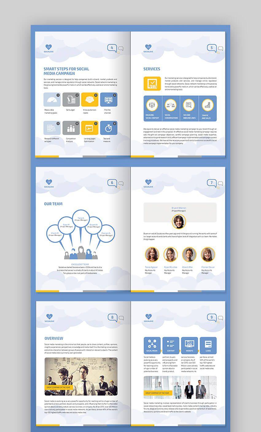 008 Singular Social Media Proposal Template Ppt Highest Clarity Full