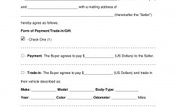 008 Singular Template For Bill Of Sale High Resolution  Example Trailer Free Mobile Home Used Car