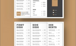 008 Singular Tri Fold Menu Template High Definition  Templates Restaurant Tri-fold Food Free Psd