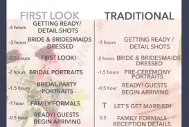 008 Singular Wedding Day Itinerary Template Sample  Excel Word