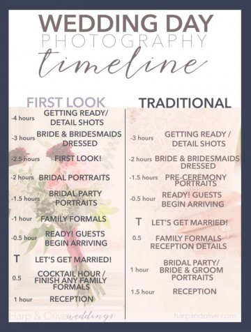 008 Singular Wedding Day Itinerary Template Sample  Excel Word360