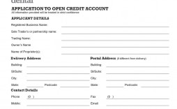 008 Staggering Busines Credit Application Template Pdf Design  Form