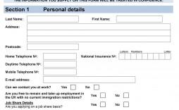 008 Staggering Employment Application Form Template M Word High Definition  Job Description Microsoft Registration
