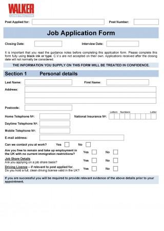 008 Staggering Employment Application Form Template M Word High Definition  Job Microsoft Description320