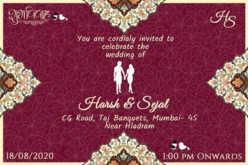 008 Staggering Free Online Indian Wedding Invitation Card Template Picture 360