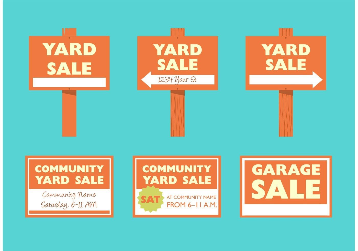 008 Staggering Garage Sale Sign Template Photo  Flyer Microsoft Word Community Yard Free Rummage1400