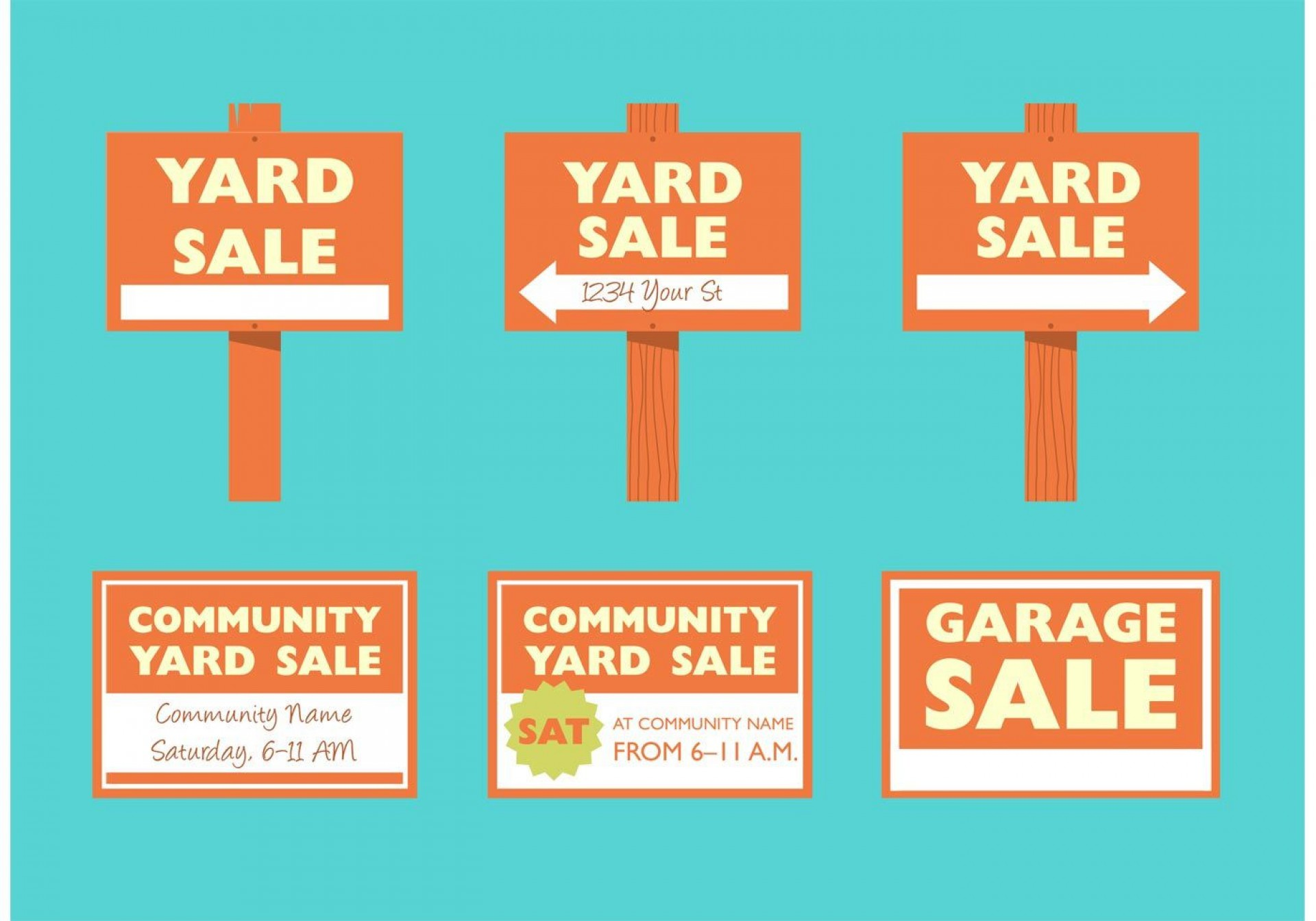 008 Staggering Garage Sale Sign Template Photo  Flyer Microsoft Word Community Yard Free Rummage1920