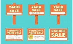 008 Staggering Garage Sale Sign Template Photo  Free Flyer Microsoft Word Yard