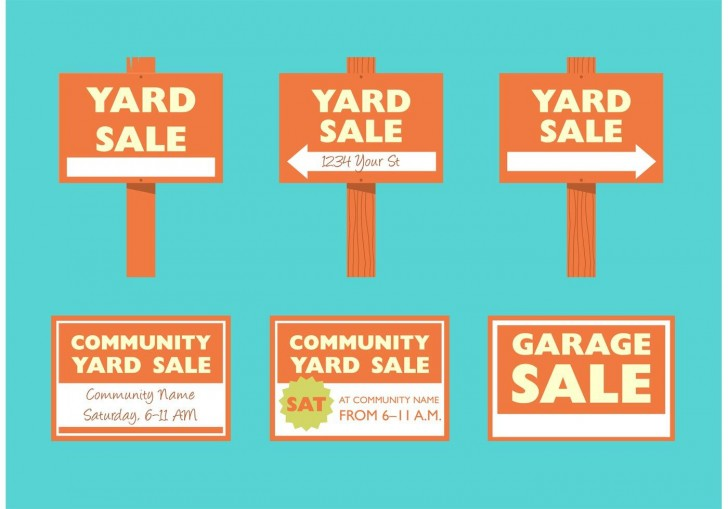 008 Staggering Garage Sale Sign Template Photo  Flyer Microsoft Word Community Yard Free Rummage728