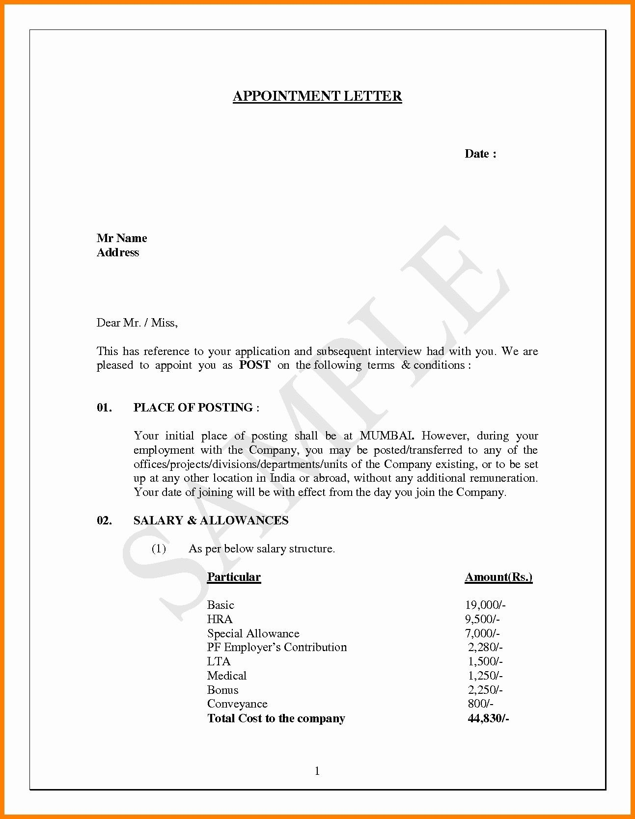 Employment Offer Letter Template from www.addictionary.org
