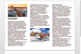 008 Staggering M Word Tri Fold Brochure Template Image  Microsoft Free Download
