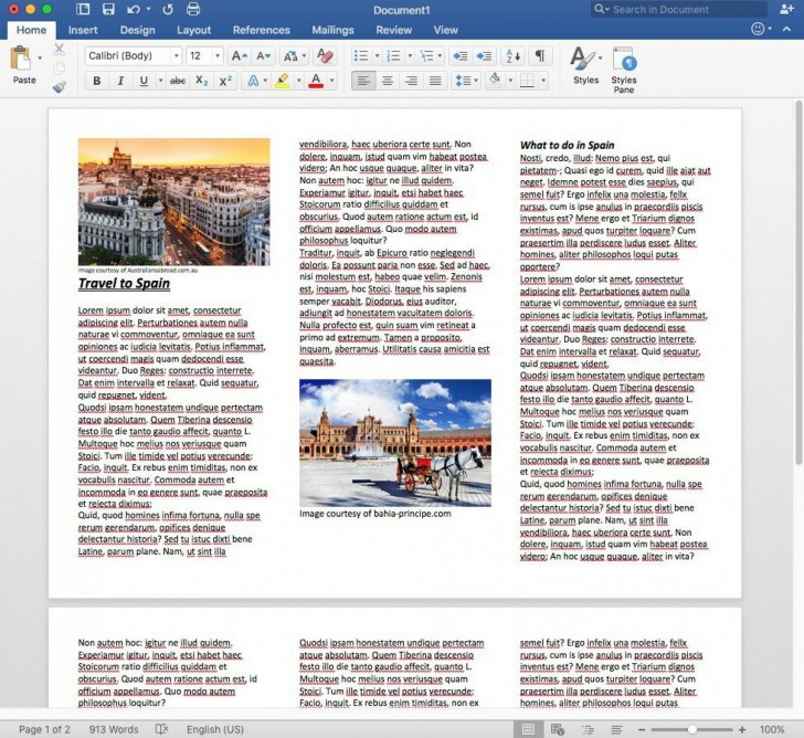 008 Staggering M Word Tri Fold Brochure Template Image  Microsoft Free Download728