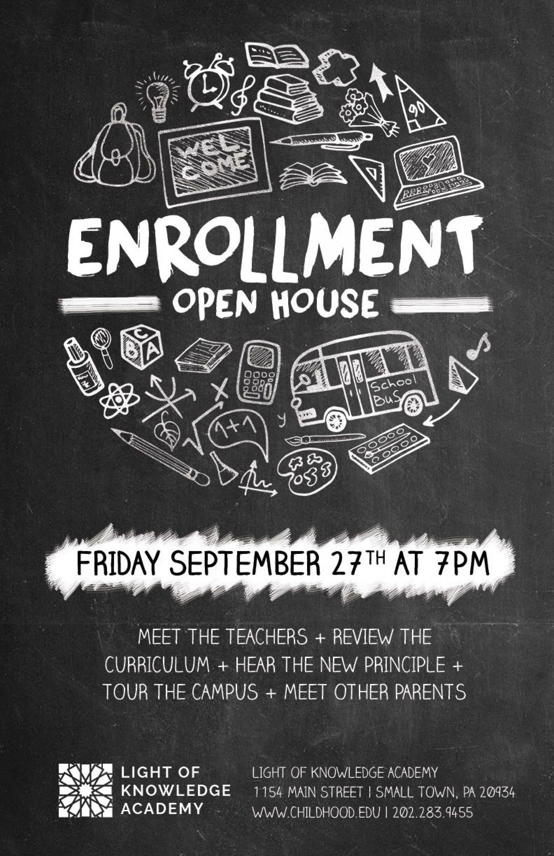 008 Staggering Open House Flyer Template High Definition  Templates Free School Microsoft1920