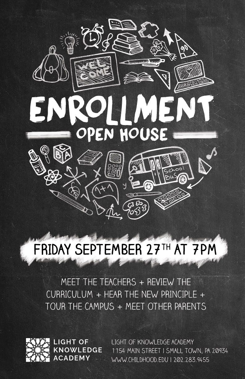 008 Staggering Open House Flyer Template High Definition  Templates Free School MicrosoftFull