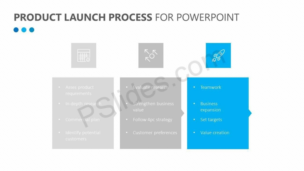 008 Staggering Product Launch Plan Powerpoint Template Free Example Large