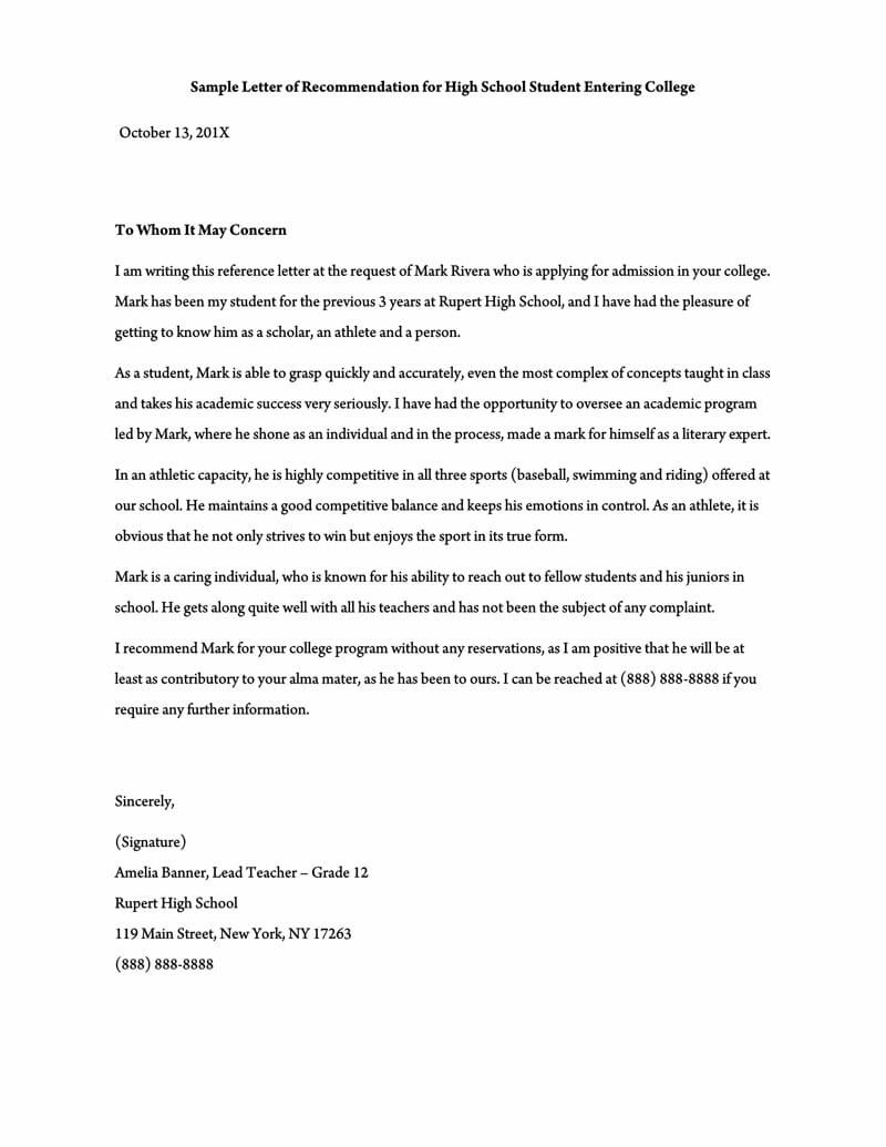 008 Staggering Sample Request For Letter Of Recommendation  From Previou Employer NursingFull