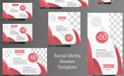 008 Staggering Social Media Banner Template Free Picture