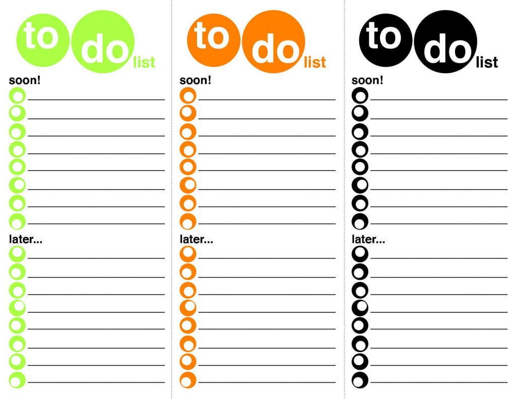 008 Staggering To Do List Template Word Sample Large