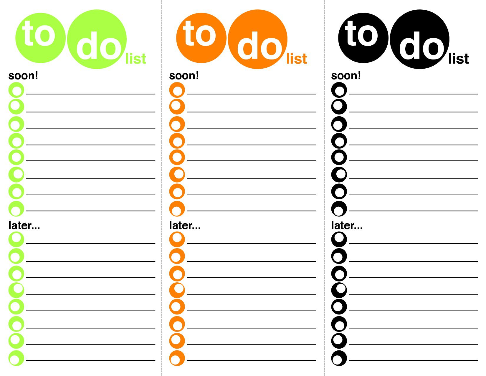 008 Staggering To Do List Template Word Sample Full