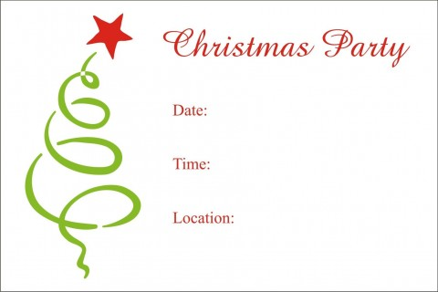 008 Staggering Xma Party Invite Template Free Picture  Holiday Invitation Word Download Christma480