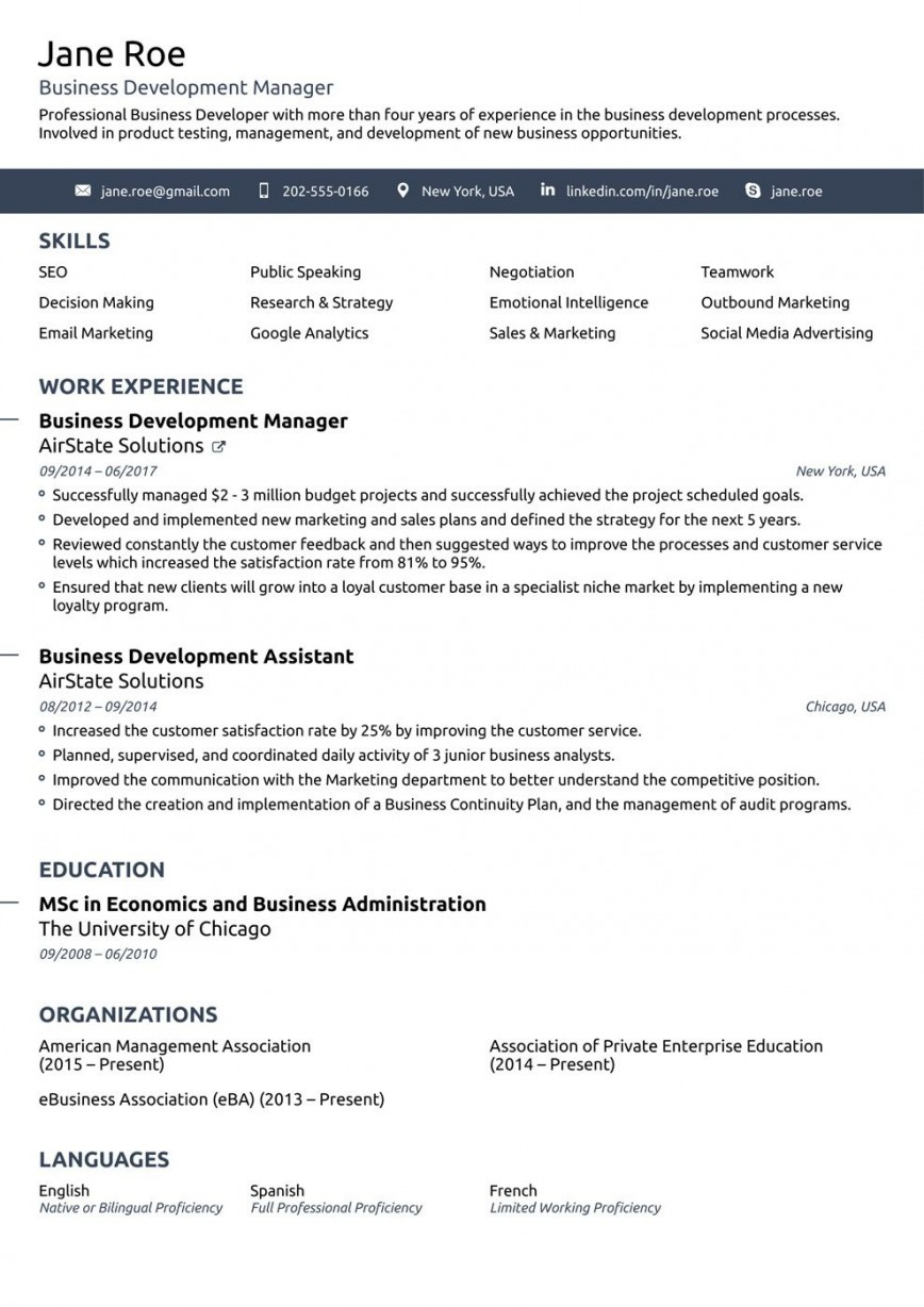 008 Stirring Best Professional Resume Template High Def  For Fresher 2019 Cv Download