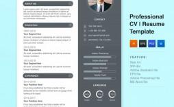 008 Stirring Best Resume Template Free Design  2019 2018 Top Download