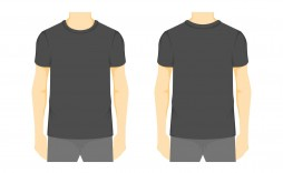 008 Stirring Blank Tee Shirt Template Example  T Design Pdf Free T-shirt Front And Back Download