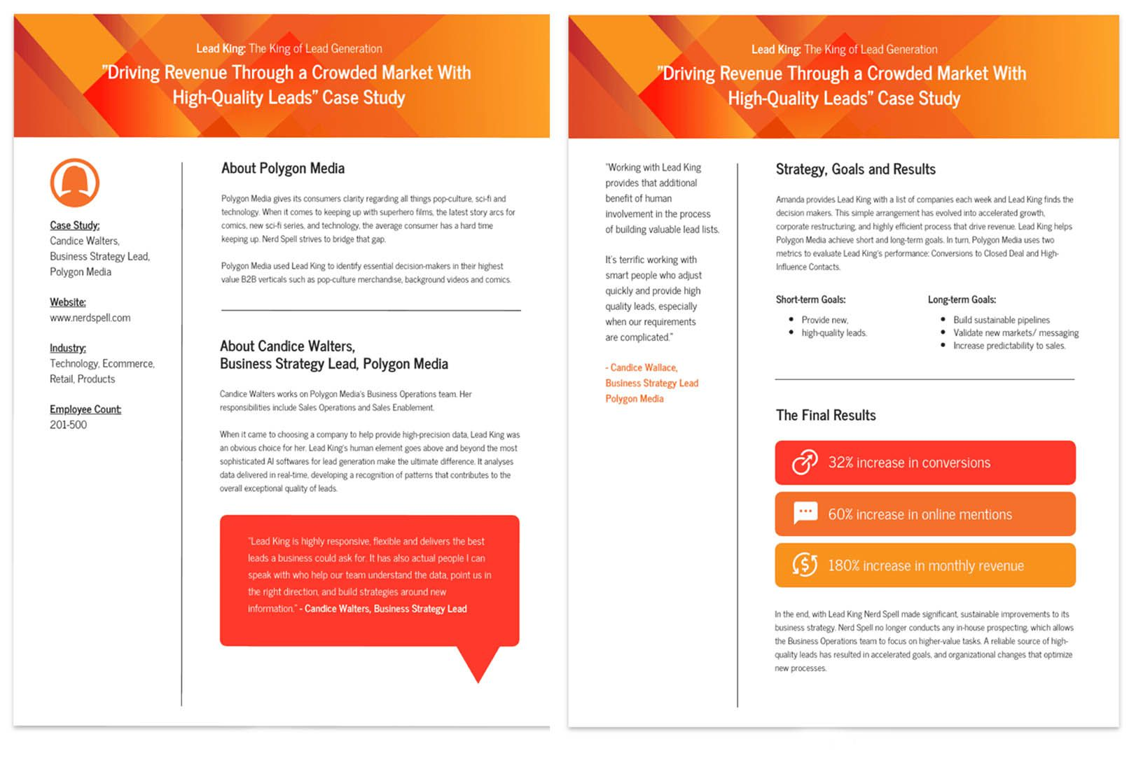 008 Stirring Busines Case Study Template Highest Clarity  One Page Download PptFull