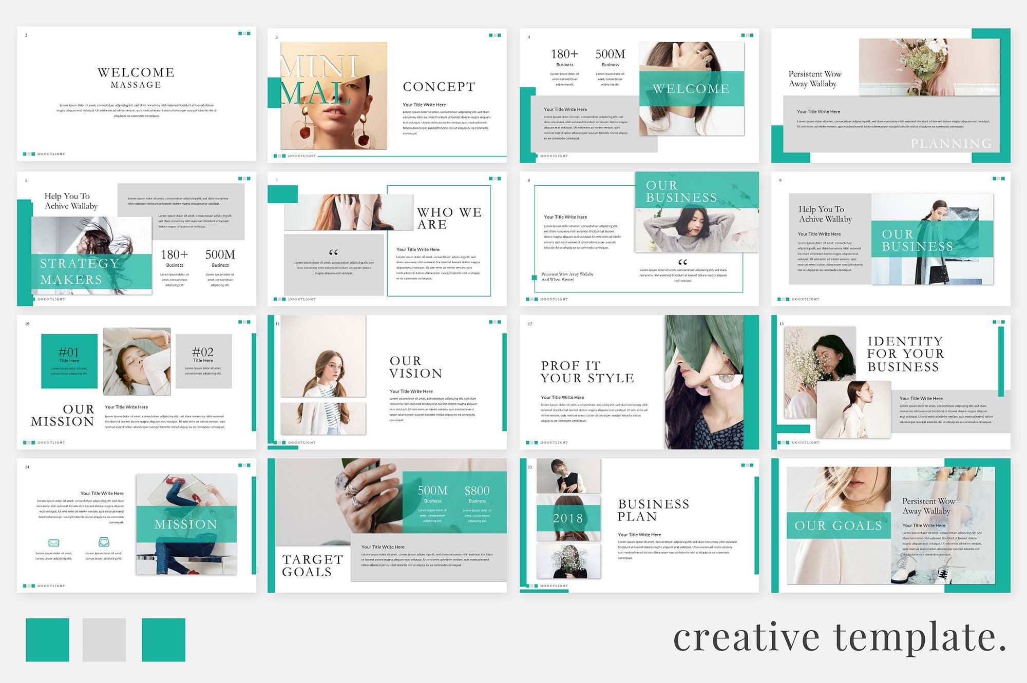008 Stirring Creative Powerpoint Template Free High Resolution  Download Ppt For TeacherFull