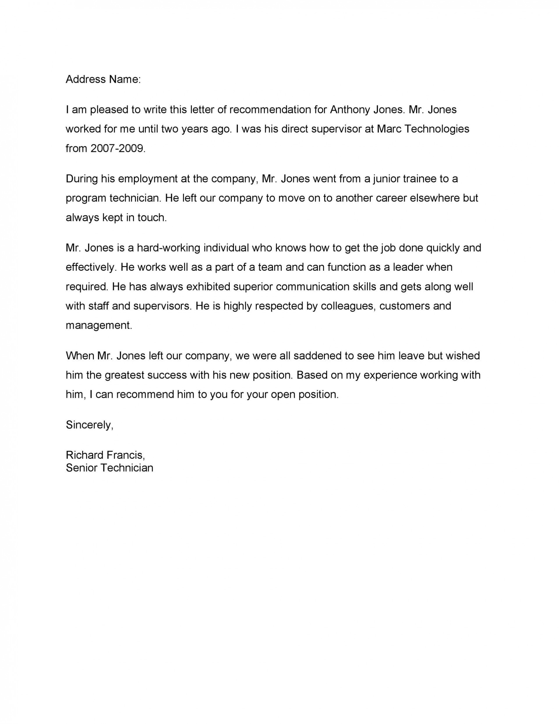 Sample Communication Letter To Employees from www.addictionary.org