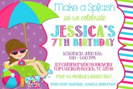008 Stirring Free Birthday Party Invitation Template For Word Highest Quality
