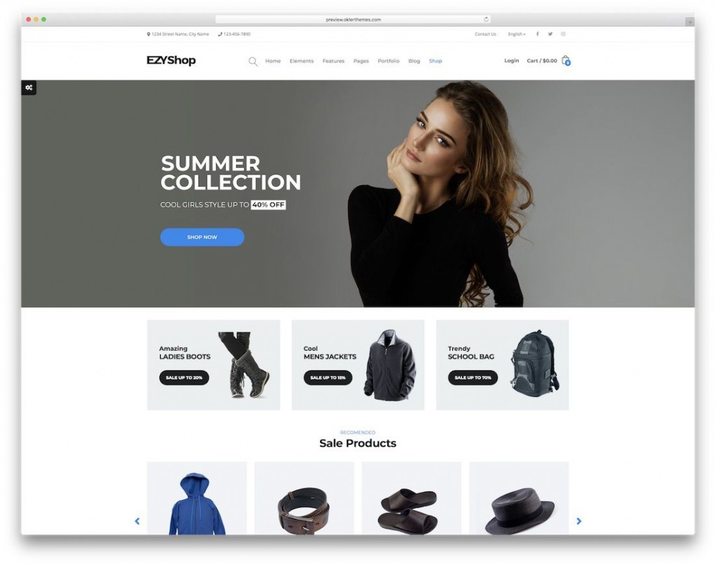 008 Stirring Free Ecommerce Website Template Download Sample  Shopping Cart Bootstrap 3Large