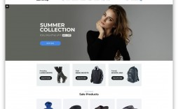 008 Stirring Free Ecommerce Website Template Download Sample  Shopping Cart Bootstrap 3