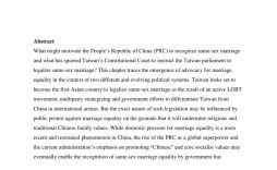 008 Stirring Gay Marriage Essay Sample  Example Clever Title For