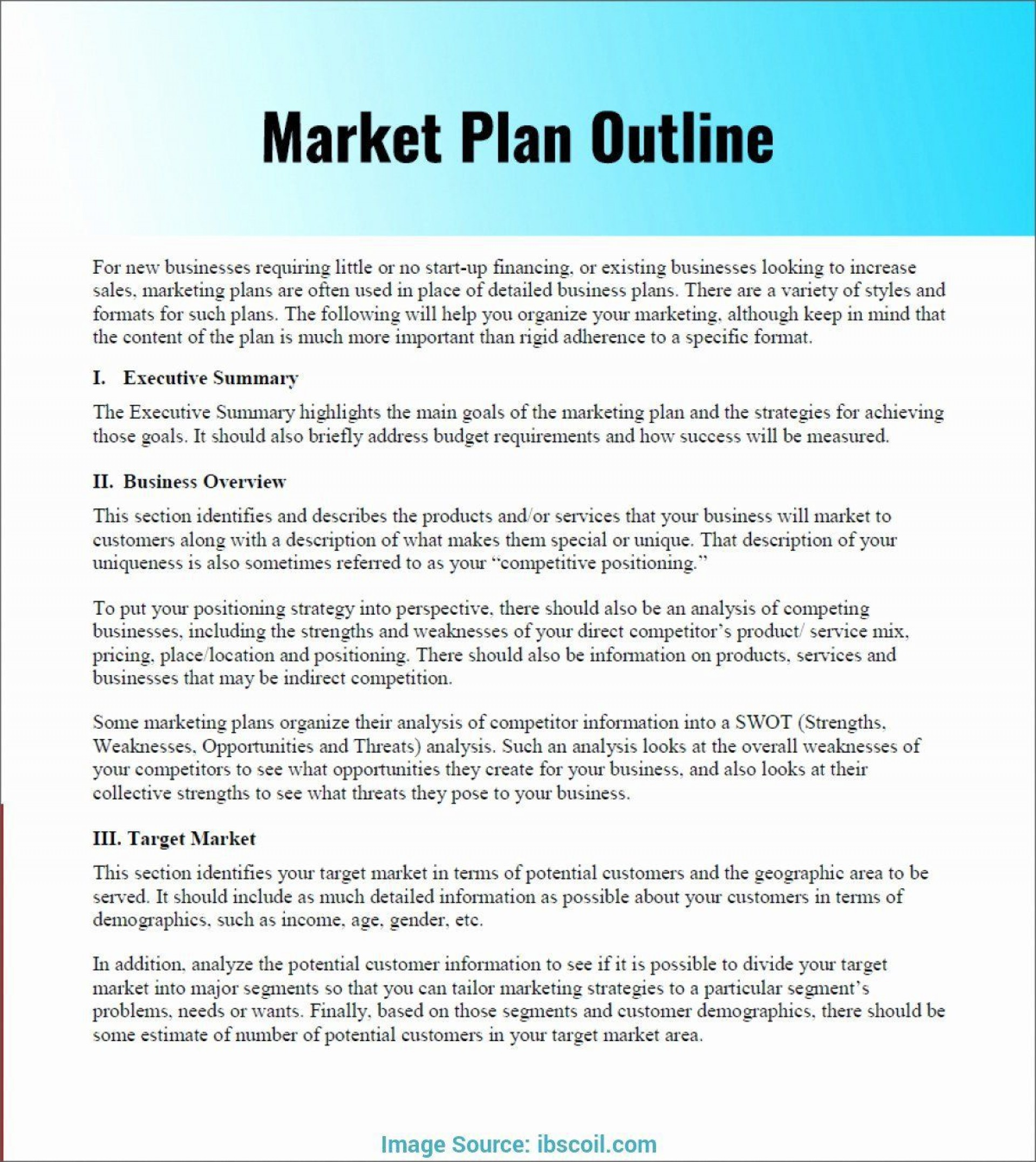Marketing Plan Template Free Pdf Addictionary