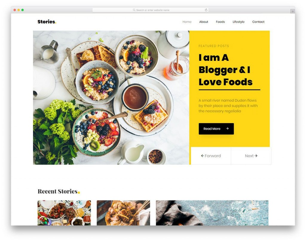 008 Stirring Simple Html Blog Template Free Download Inspiration  With CsLarge
