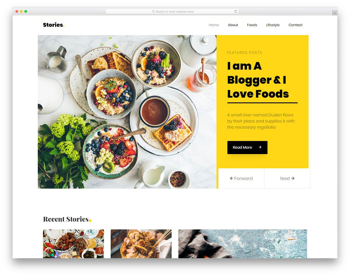008 Stirring Simple Html Blog Template Free Download Inspiration  With CsFull
