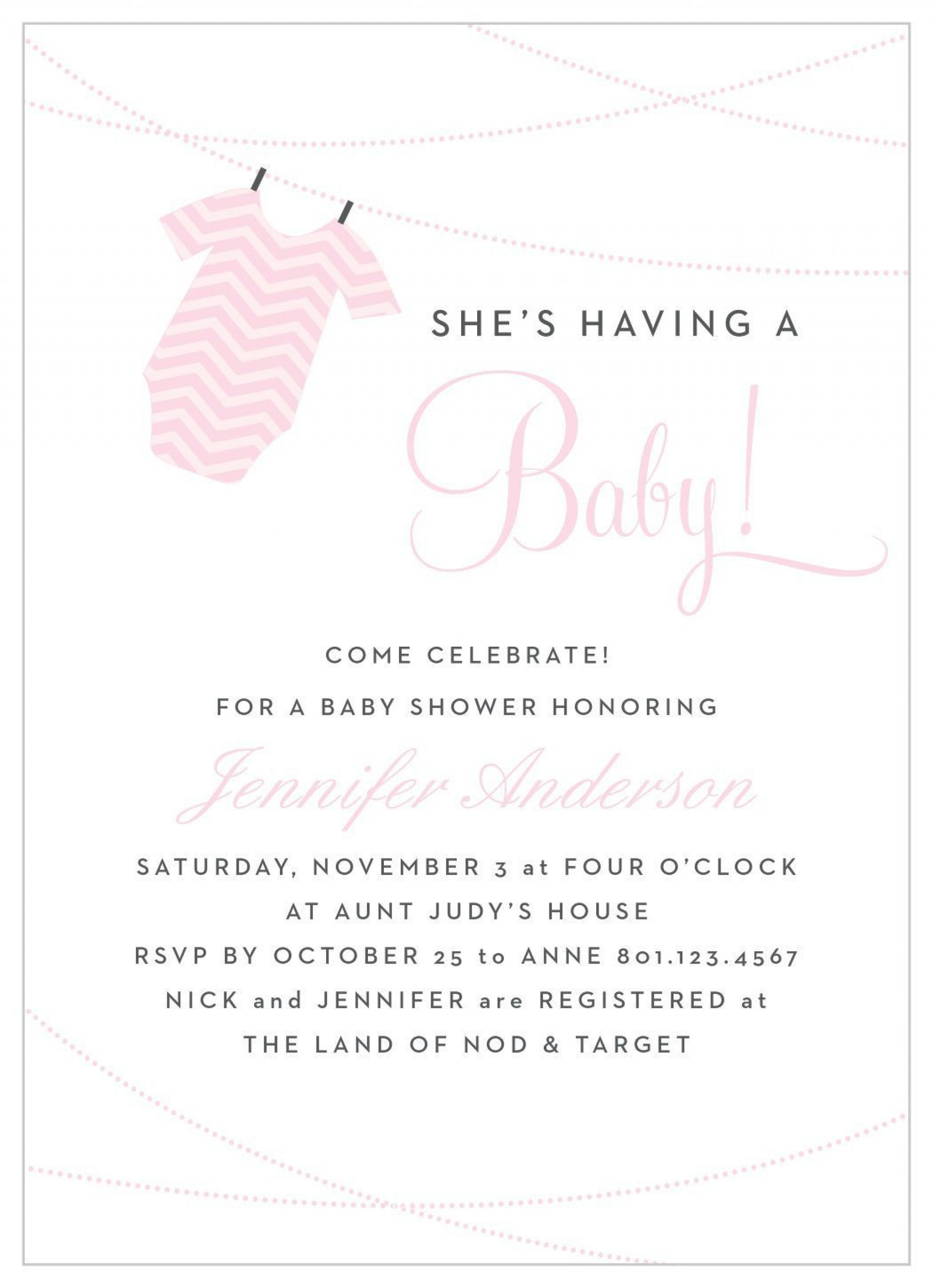 008 Striking Baby Shower Invitation Wording Example Highest Clarity  Examples Invite Coed Idea For Boy1920