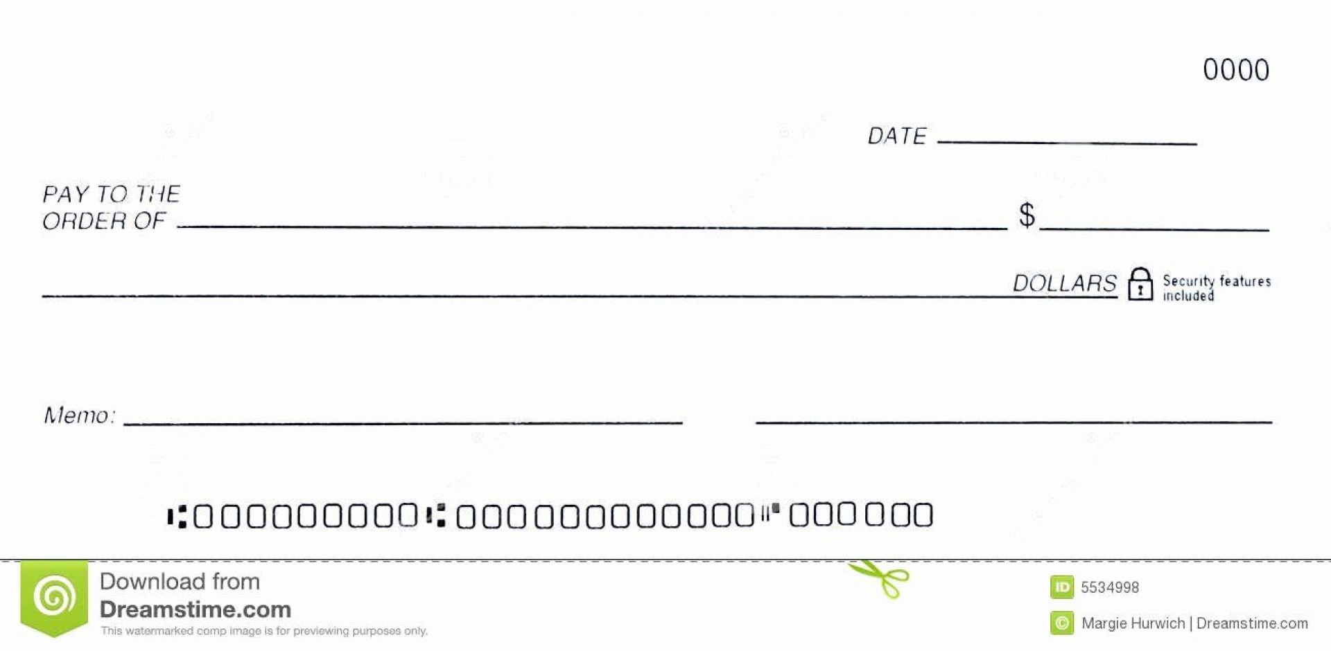 008 Striking Busines Check Template Word Image  Free Blank Document1920