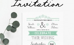 008 Striking Celebration Of Life Invitation Template Free High Def