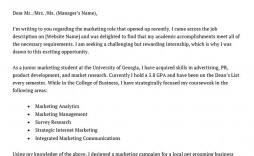 008 Striking Cover Letter Template Internship Inspiration  Example Marketing Position For Civil Engineering