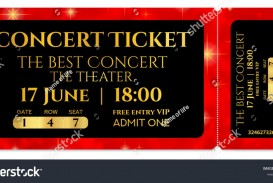 008 Striking Editable Ticket Template Free High Def  Concert Word Irctc Format Download Movie