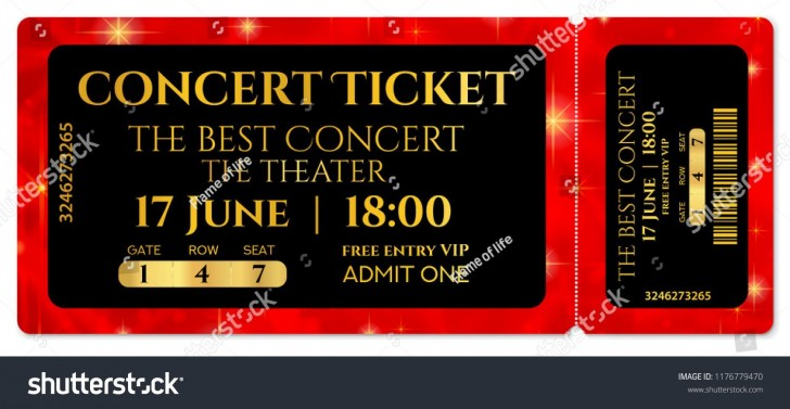 008 Striking Editable Ticket Template Free High Def  Concert Word Irctc Format Download Movie728
