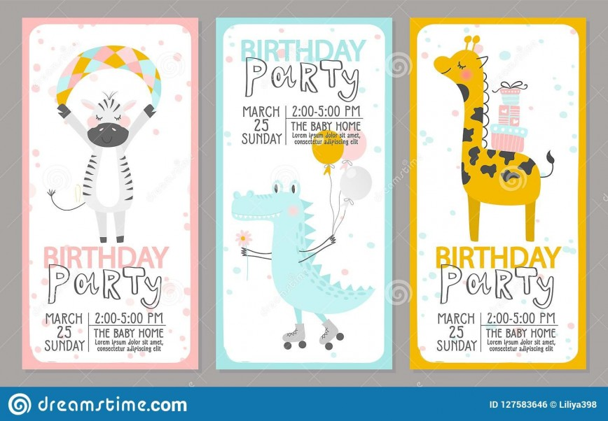 008 Striking Free Birthday Party Invitation Template Photo  Templates Word With