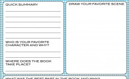 008 Striking Free Printable Book Report Template For 6th Grade Picture