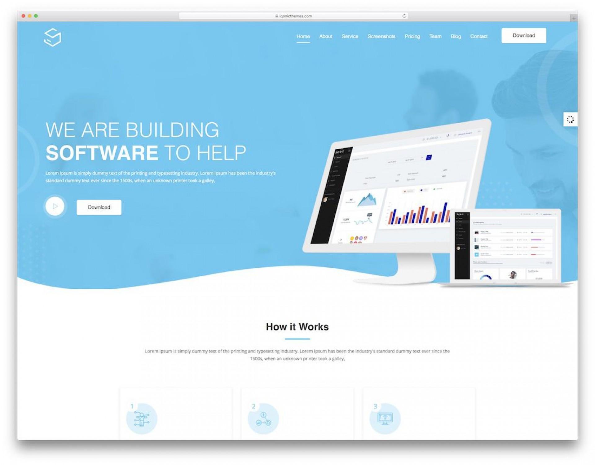 008 Striking Free Professional Web Design Template High Def  Templates Website Download1920