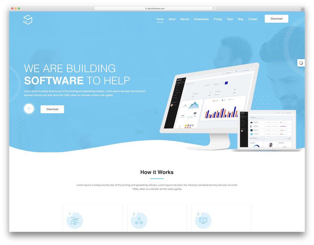 008 Striking Free Professional Web Design Template High Def  Templates Website DownloadFull