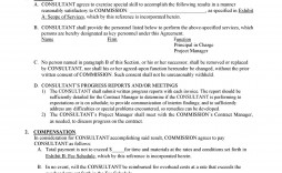 008 Striking Free Service Contract Template Pdf Picture